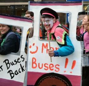 We want our buses back