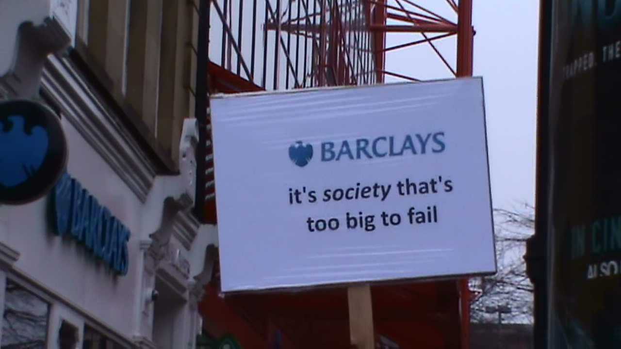 Barclays, it's society that's too big too fail.