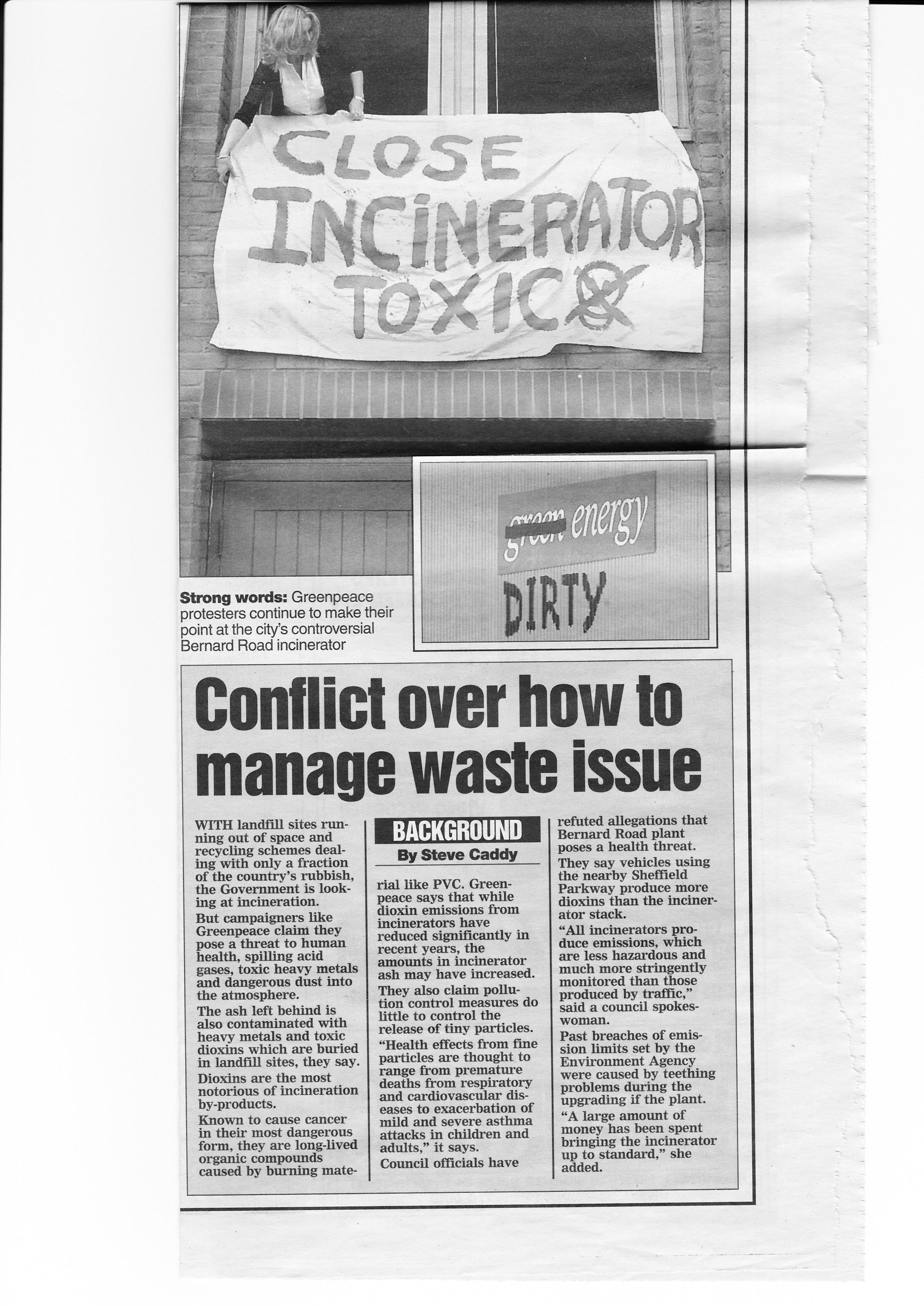 councilconflictoverwasteissues