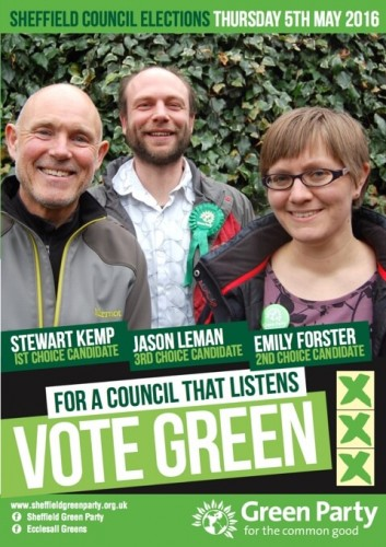 Ecclesall Election Leaflet 2016