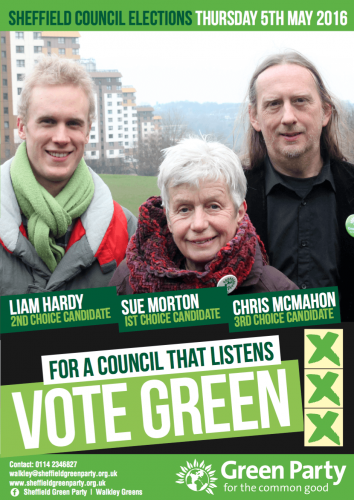 Walkley Election Leaflet 2016