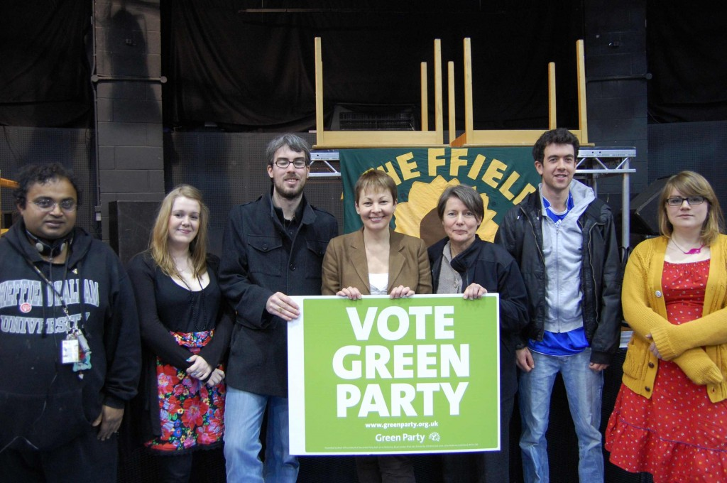 Sheffield Young Greens with Caroline Lucas