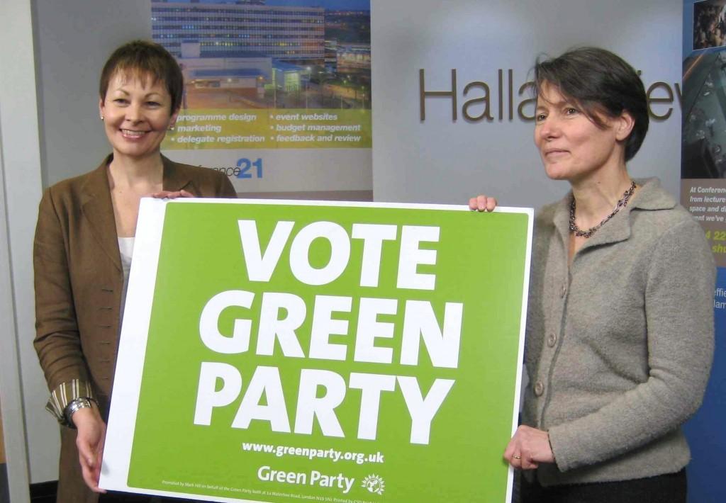 Caroline Lucas MP and Councillor Jillian Creasy