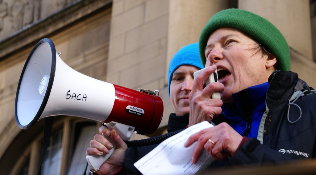 Jillian Creasy at Occupy Sheffield