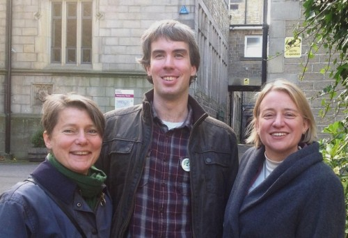 Jillian Creasy, Brian Webster and Natalie Bennett Oct 2012