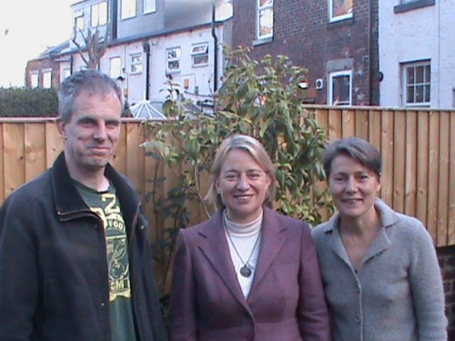 Rob Murphy, Natalie Bennett and Jillian Creasy Oct 2012