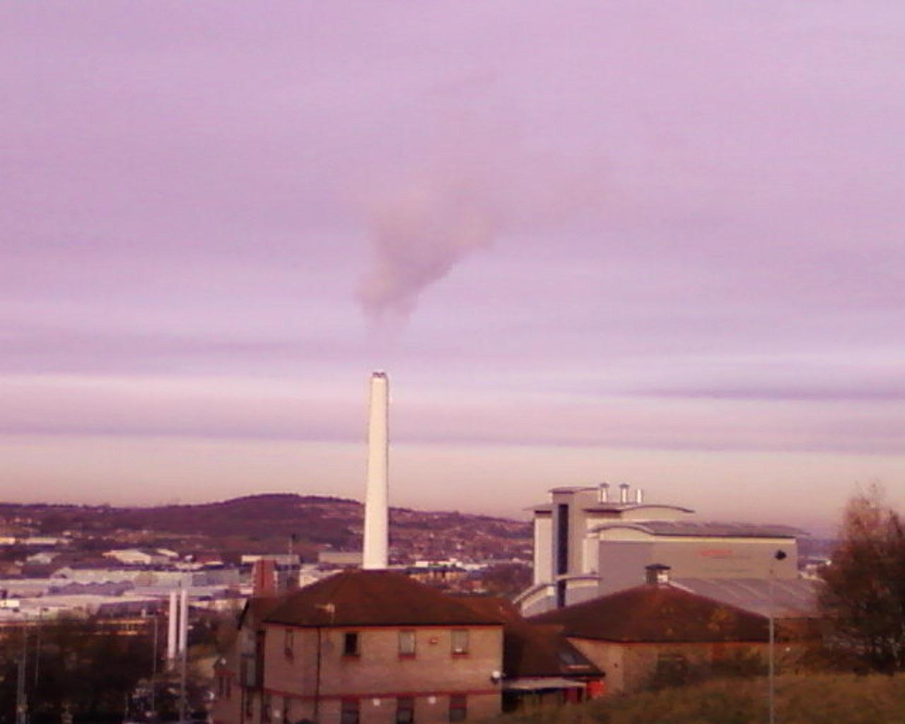 Incinerator run by Veolia Sheffield