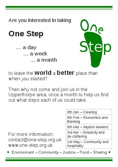 one step group in Upperthorpe