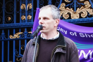 Councillor Rob Murphy speaks out against cuts to Early Years services