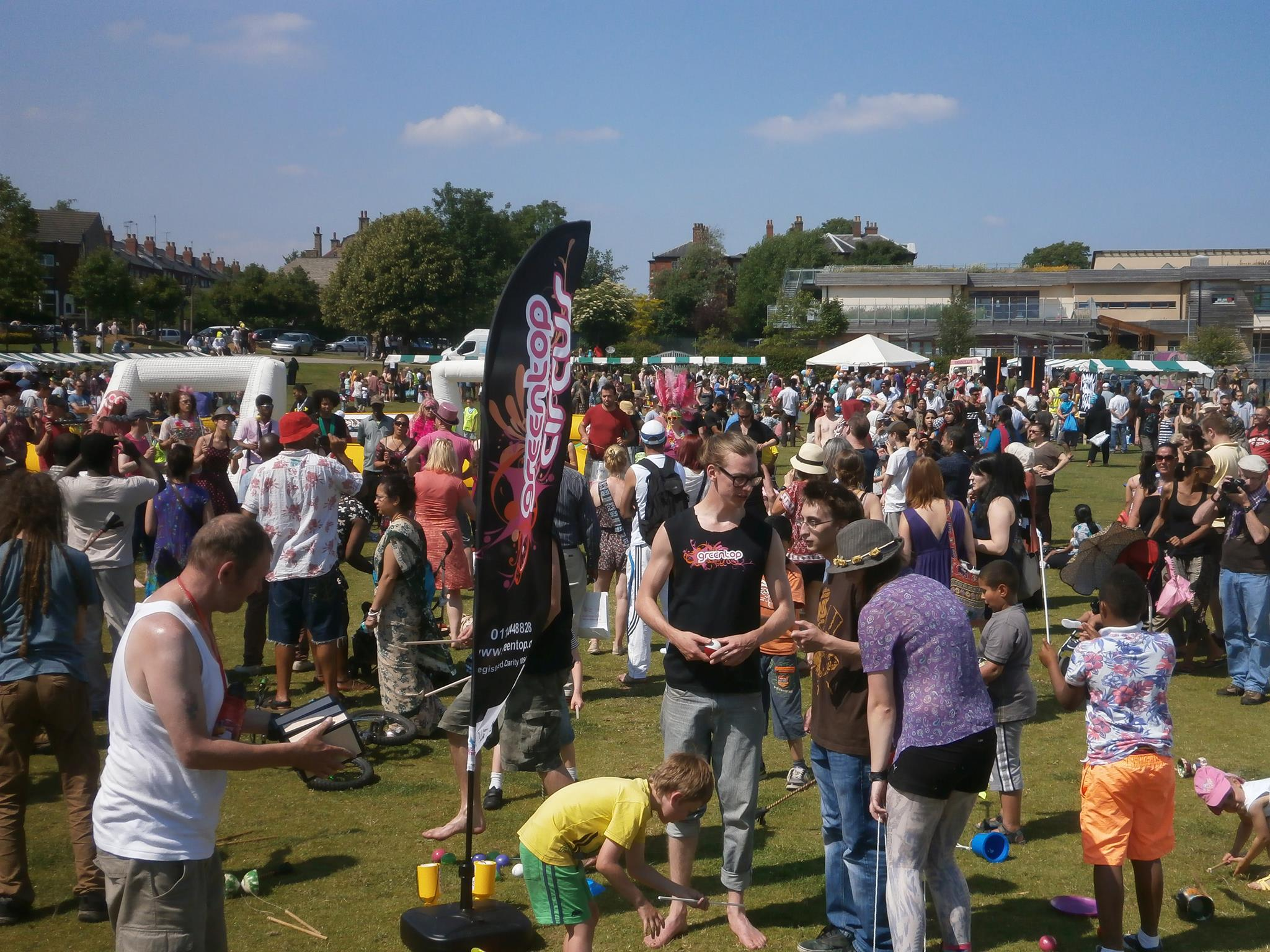 crowds at SharrowFestival