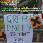 Green Party is not for shale