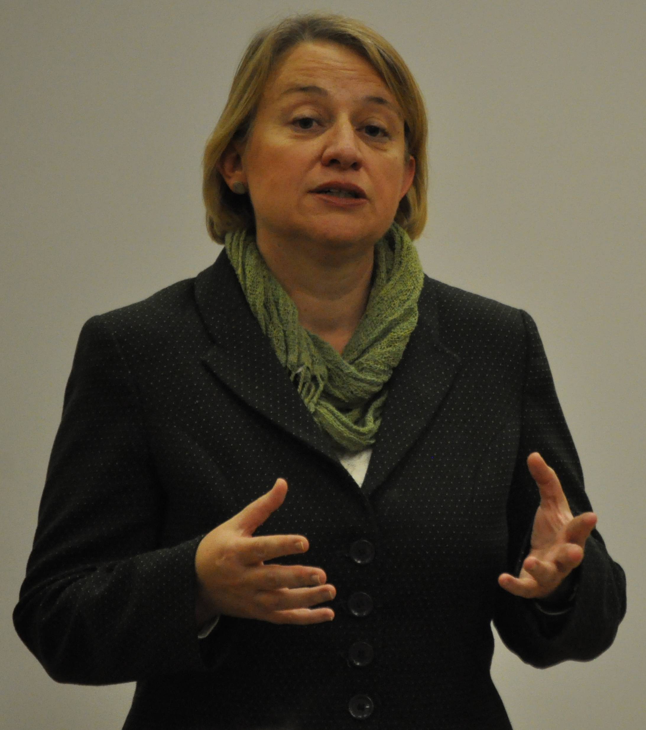 Natalie Bennett, Green Party Leader, at the Sheffield Greens AGM 2013,