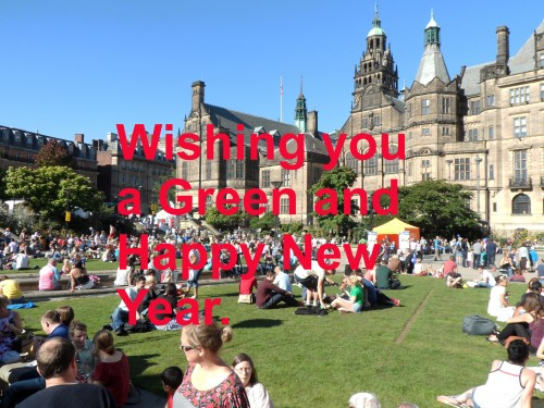 Wishing you a green and happy New Year