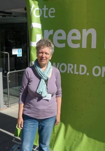 Rita Wilcock at Green Party conference