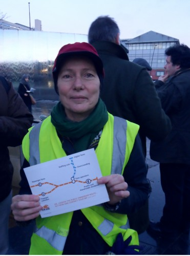 Central Constituency candidate Jillian Creasy calls for public ownership of the railways