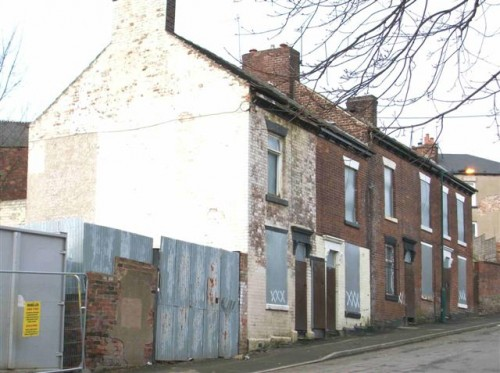 Empty Homes awaiting demolition