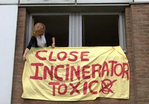 close incinerator