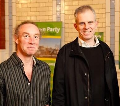 Councillors Douglas Johnson and Rob Murphy