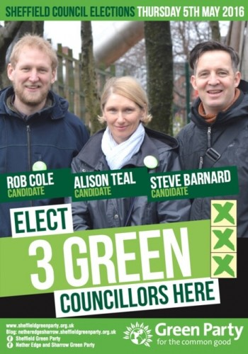 Netheredge Election Leaflet 2016