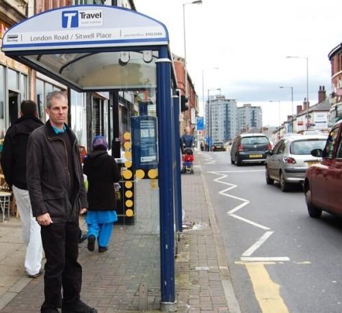 Cllr Rob Murphy on London Rd